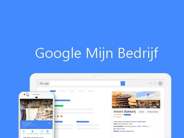 Uw bedrijf toevoegen op Google Mijn Bedrijf